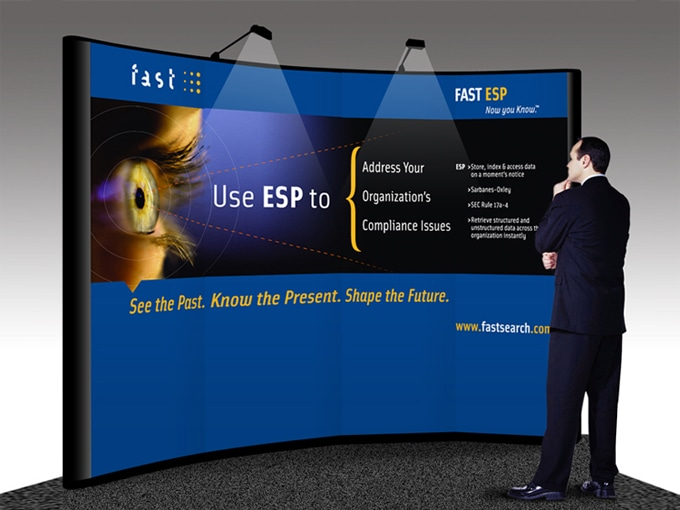 FAST ESP Trade Show Graphics