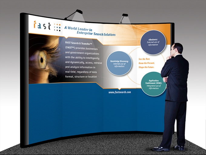FAST TRade Show graphics