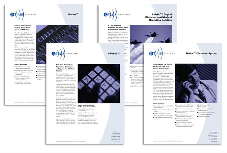 RTAS DataSheets