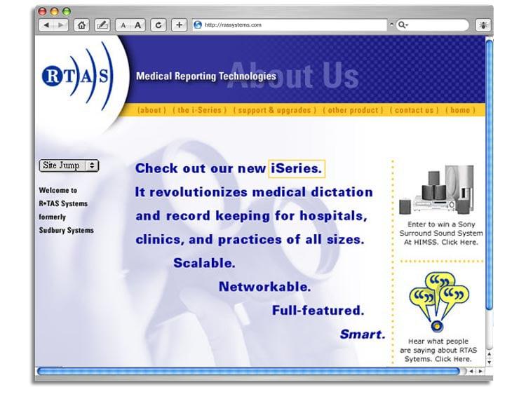 RTAS web site