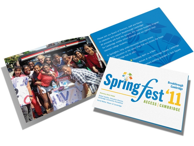 Breakthrough Springfest Invite