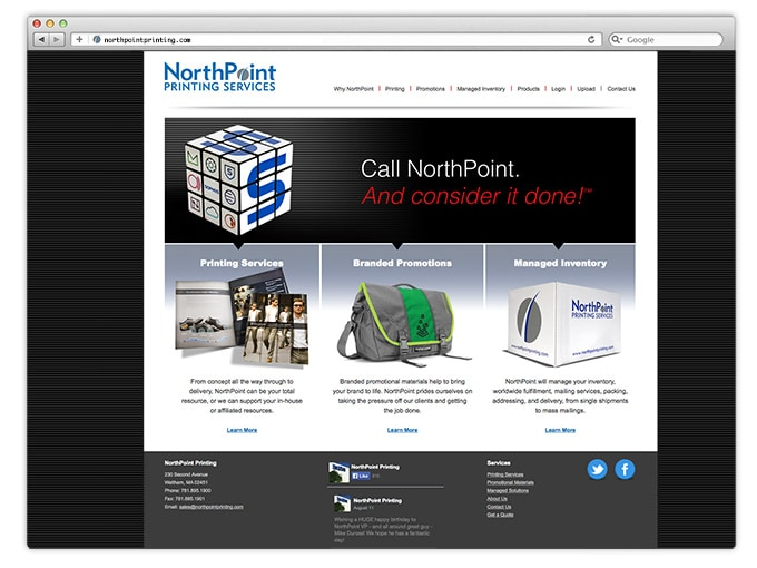 KronerDesign_NorthPointPrinting_website